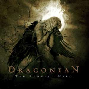 Draconian: The burning halo (album cover)