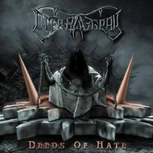 Eternal Gray - Deeds Of Hate (CD cover)