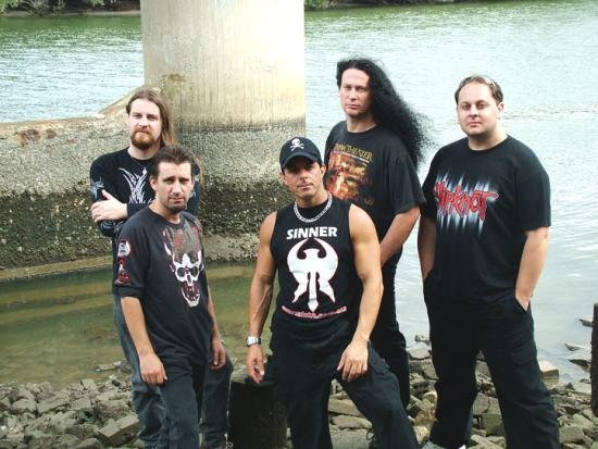 Mortal Sin - band photo