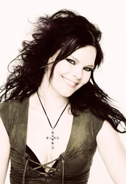 Anette Olzon - Nightwish lead vocalist 2007