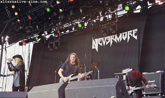 Nevermore - live at EuroRock 2001 Fesival