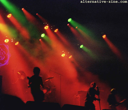 Paradise Lost - live at EuroRock 2001 festival