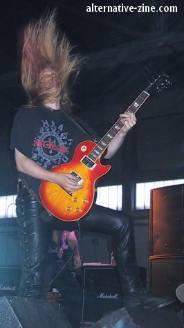 Christofer Johnsson from Therion at M'era Luna 2002